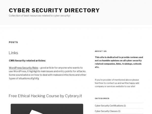 cybersecuritydir.com